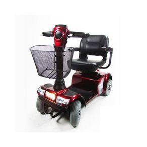 Scooter Neat 4 Ortomix Cor VErmelha Posicionada de Frente