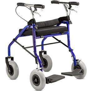 Andador-4-Rodas-com-Assento-Jaguaribe-cor-azul-e-preto
