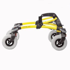 Andador-Mustang-R82-posicionado-de-lado-na-cor-amarela