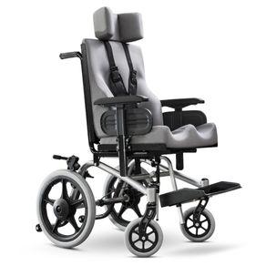 Cadeira de Rodas Conforma Tilt Ortobrás Grafite Tamanho SL 35 x 35 x 40