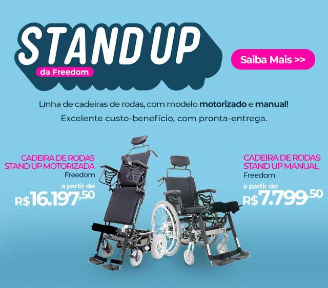 Lançamento Stand-UP Freedom (M-01)